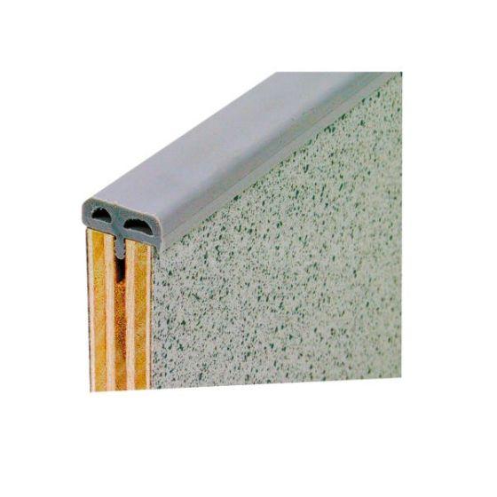 Canto perfil T gris alcolchado de 5 metros para mueble camperizacion 1
