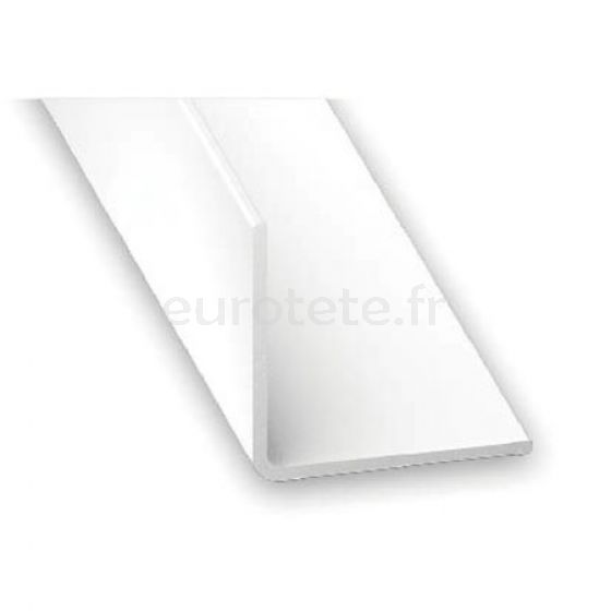 Angulo PVC 15 x15x1 mm blanco 2 metros