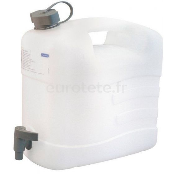 Deposito 20 litros 42 x 41 x 20 con grifo para aguas residuales furgoneta camper 1