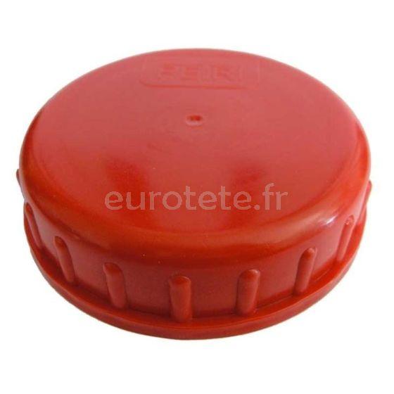 Tapon DIN 96 rojo para deposito bidon de agua