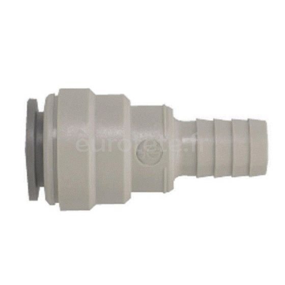Conector racor manguera a tubo de 15 mm