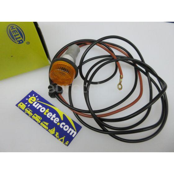 Hella galibo redondo naranja Hella 2 BM 003 563-111 señalizacion exterior autocaravana 4