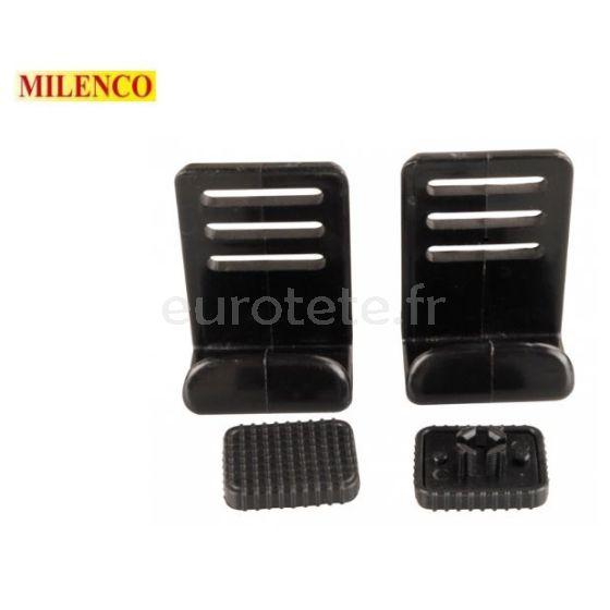 Milenco fijacion almohadilla clip para espejos retrovisores caravana o remolque 1