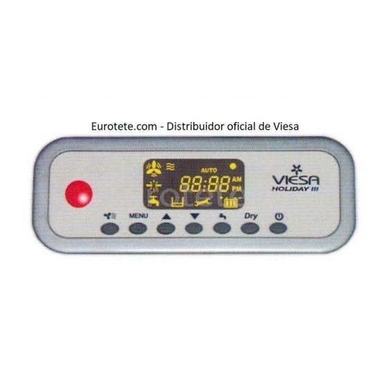 Modulo comando control Viesa Holiday III con modulo de potencia para enfriador de autocaravana 1