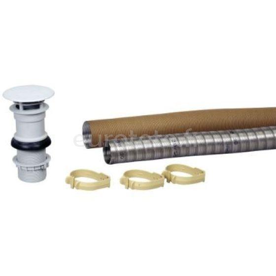 Trumatic S 3002 o Trumatic S 3004 kit chimenea de techo con tubo y abrazadera Truma