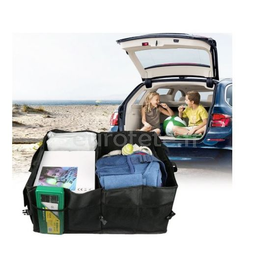 Organizador 52 x 38 x 26 cm maletero plegable para debajo asiento furgo camper 1