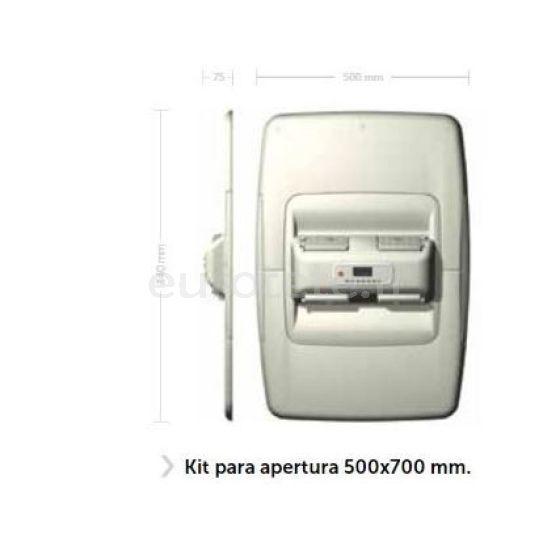 Viesa Holiday IIIs Kit 500 x 700 mm apertura techo autocaravana 1