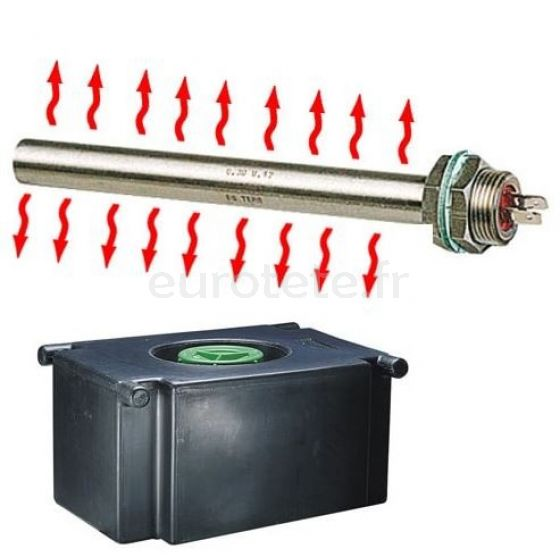 Sonda calentamiento resistencia 12 voltios 30 watios para deposito agua 7