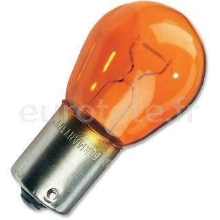 Bombilla naranja 12 voltios 21 watios BAU15S PY21W