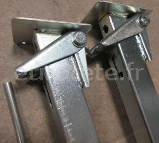 Patas estabilizadoras de 29/45 cm para  autocaravana y caravana 1
