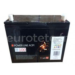 Batterie GEL de ligne électrique 12V 100AH