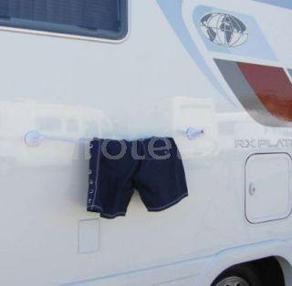 Tendedero extensible con ventosas para autocaravanas furgoneta camper camping 1