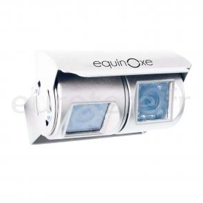 Camara doble blanca marcha atras con pantalla para autocaravana 1
