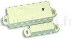 Capteur GEMINI 862 sans câble pour la porte ou la fenêtre de l'alarme Camping-car GEMINI
