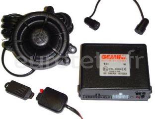 GEMINI 932R alarme can-bus a 12 volts pour la securite du camping-car