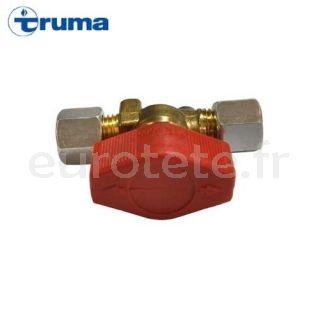 Truma llave valvula de cierre rapido conexion 8 mm (tipo Hermeto) K-8 gas 3