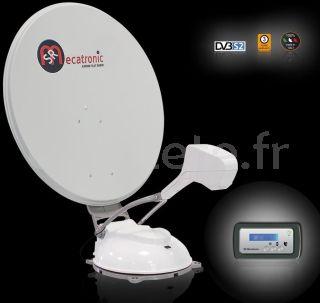 Antenne satellite Mecatronic ASR 850 Flat Skew Plus automatique pour camping-car