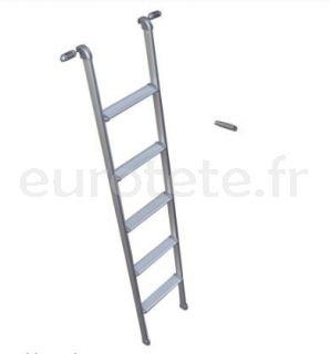 Escalera 5 escalones 155 cm para litera autocaravana 1