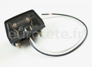 Remolque iluminacion matricula 1