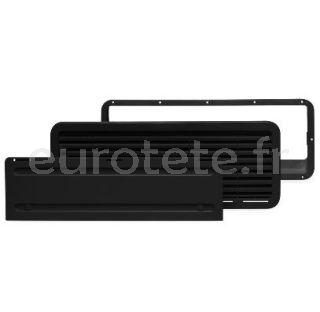 Dometic LS 200 rejilla exterior gris negro completa para nevera autocaravana 1