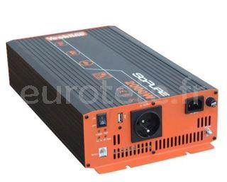 Convertidor onda sinusoidal Vechline Power 2000 watios autocaravana 1
