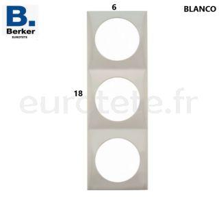 Berker-blanc-triple-frame-interrupteur-bouton-poussoir-electrique-inprojal-gala-camping-car