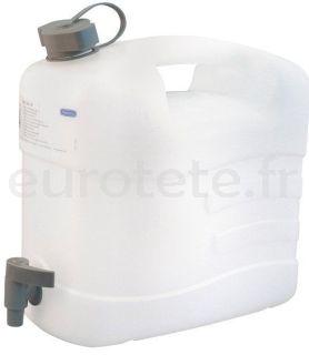 Bouteille eau 10 litres 35 x 41 x 20 avec robinet 1