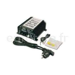 Nordelettronica NE287 Kit 17 A avec cables de chargeur de batterie camping-car 1