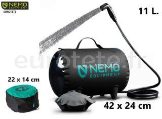 Douche-portable-Helio-Pressure-Nemo-outdoor-surf-sport-beach-camper