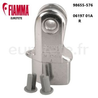 Fiamma F45 S - F65 S - F65 Kit extremite jambe droite 98655-576 camping-car 1