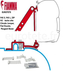 Support Fiamma toit haut H2 1994-2006 Citroen Jumper, Fiat Ducato type 230/244, auvent Peugeot Boxer F45 S, F45 L, ZIP 1