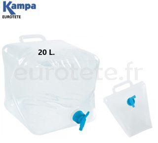 jerrican-pliant-bouteille-eau-pliante-20-litres-avec-poignée-carafe-réservoir-camping-car-camperization-cuisine-DIY-camper-van-1