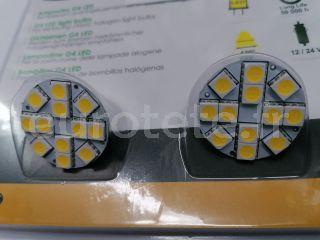 Ampoule LED G4 pack 200 lumens connexion derriere camping-car 1