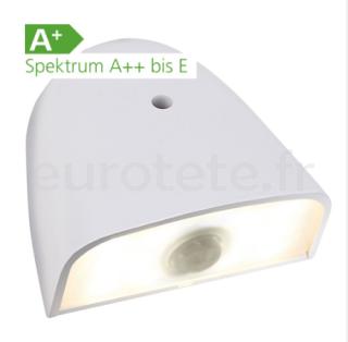 LED avec detecteur de mouvement pour porte entree a 12 volts camping-car 1