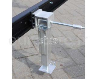 Pieds de nivellement 290-420 mm Kit aluminium SMV camping-car 1