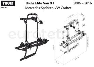 Thule-Elite-Van-XT-Mercedes-Sprinter-VW-Crafter-  2006 –2016-fourgonnette-camper-van