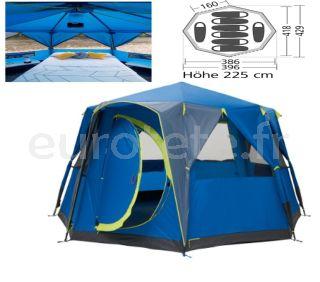 Tente-de-camping-familiale-bleue-pour-8-personnes-camping-vacances-plage-costa-brava-decathlon-1