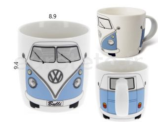 Volkswagen T1 azul Bulli taza Mug camper vintage